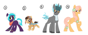 MLP Adoptables by candy-behemoth