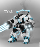 War Mecha # White snow by Romantar