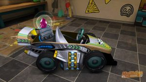 ModNation Racers AirWave Runner side view by Blucaracal