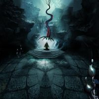 shpiljar horse of Vodan on thron by Dejano23