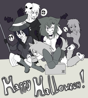 !Happy Halloween ! by Radioactive-Marie