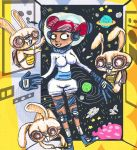 Space Gal and Bunnies by Einde