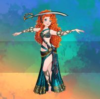 Disney Belly Dancers: My Sword, My Fate by Blatterbury