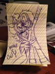 Guy X Kehna .:Pen Doodle:. by LaTigressa1