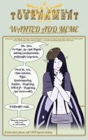 HBT Want Ad - Roan by TaiOshiro