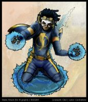 -Static Shock Collab- by contravere