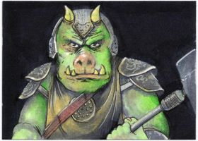 Sketchcard:StarWars: Guard by GraphicGeek