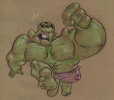 HULK by JeffVictor