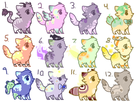 Cat Adopts (4/12 OPEN) by MellowAdopts