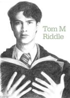 Tom Riddle Portrait by telesketch