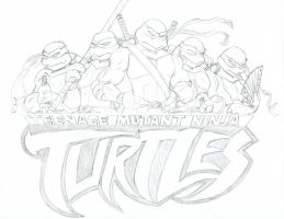 TMNT: It's Ninja Time by MCN51FJ