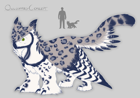 Owleopard by NuclearBandaid