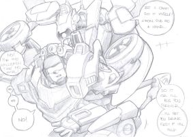 whirl and trailguy sketch by prisonsuit-rabbitman