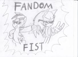Fandom Fist! by NathanTheMoldy