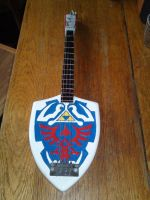 Custom Legend of Zelda Guitar by RocknRollCustoms