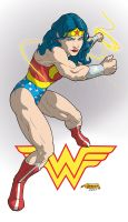 Classic Wonder Woman by WBreaux