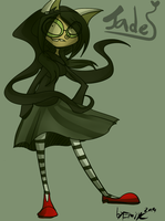 -Homestuck- Jade  Harley Witch of Space by Freakly-Show