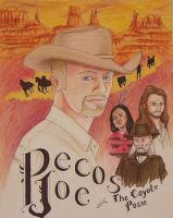 Pecos Joe and the Coyote Posse by Art-ifact
