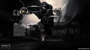 Halo Reach S-312 Wallpaper by PhotoshopMiraj