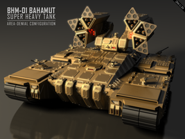 Bahamut Super Heavy Tank by Progenitor89