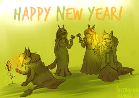 Happy New Year 2017 for everybody! by IustinianieArchers