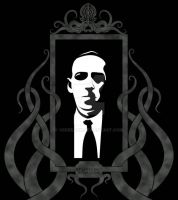 Howard Phillips Lovecraft by verreaux