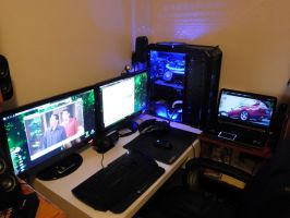 My Gaming Corner by Chaos-Bomb