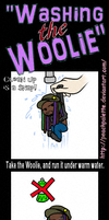 Washing the Woolie by PeachPalette