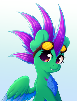 Sparrow {Portrait Commission} by FluffyMaiden