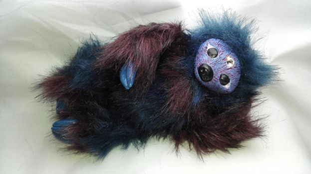 dream sloth- my first art doll by ilikeshiniesfakery