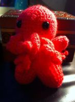 Cutethulhu Neon Pink by Sigilien