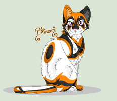 I wanted to draw cats by Blixemi