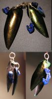 Scarab Wings Pendant by Izile