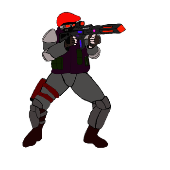 Dragnov soldier Commando (Post Kalindra's Rule ) by Kmon13