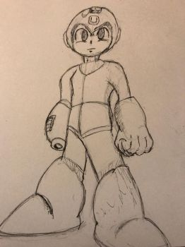 Courageous Blue Bomber by MyHeartisanOpenBook