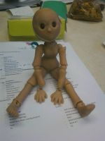 This is my first homemade Ball jointed doll!!! by kaistermaister