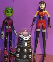 custom Brain and Madame Rouge by TeenTitans4Evr