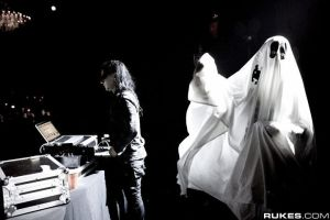 Skrillex and Ghost by amy291000