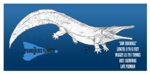 Prionosuchus plummeri by BlueCea