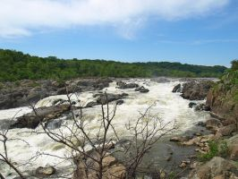 Great Falls of the Potomac 56 by Dracoart-Stock