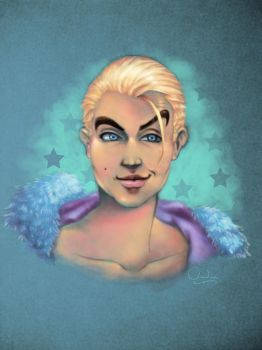Tyler Breeze by claudiall