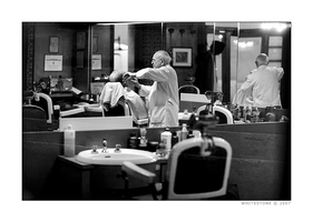 The Barber Shop by whitestone
