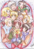 APH: Christmas Light by mino-the-cat