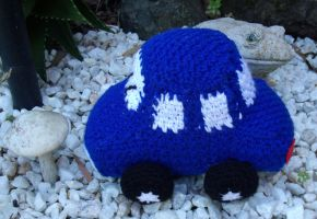 crochet car by Craftcove