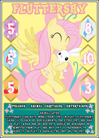 MLP:FiM Card Game: Fluttershy - Animal Lover by PonyCardGame