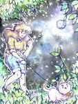 Bee and Puppycat- Spacewalk by Rizathepenguin
