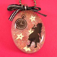 Alice In Wonderland Necklace by cbtscloset