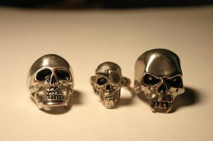 skulls by TooMuchFilth-stock