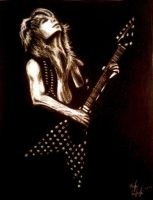 Randy Rhoads by aerokay
