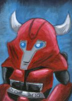 Cliffjumper painting by Shirobutterfly
